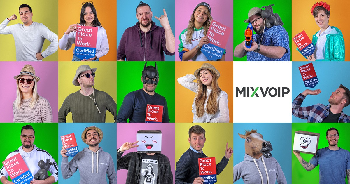 Mixvoip great place to work