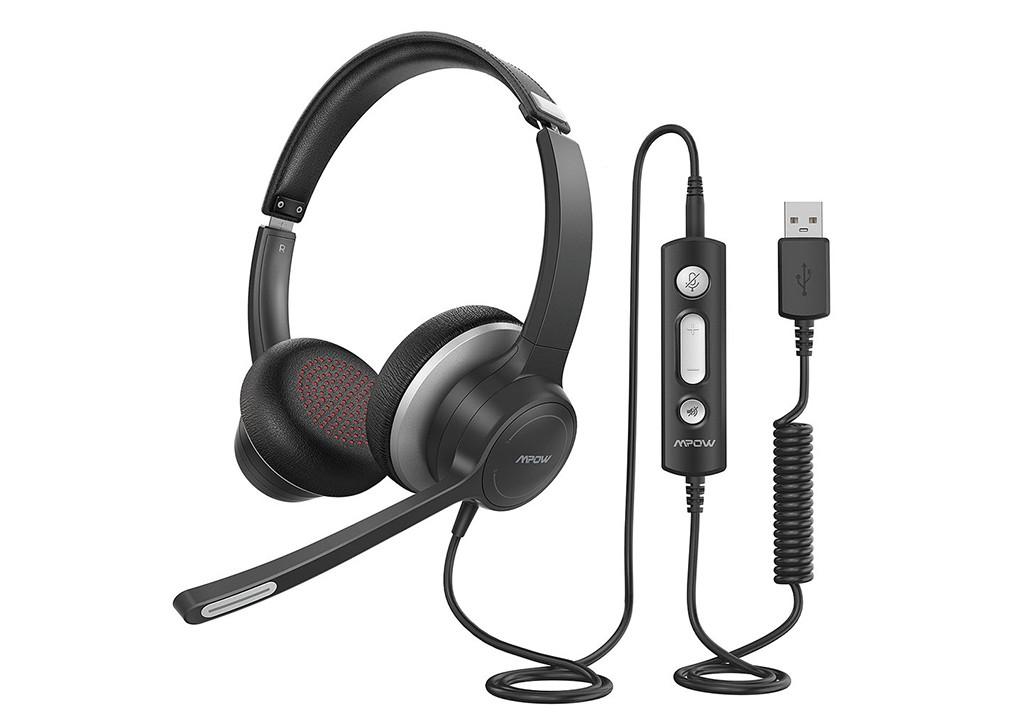 Mpow HC6 USB Headset mit Mikrofon