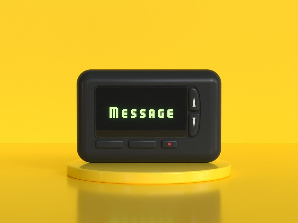 mobile pager