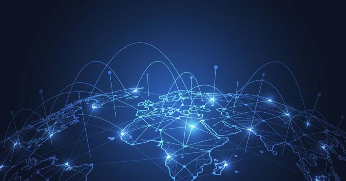 Map world connectivity