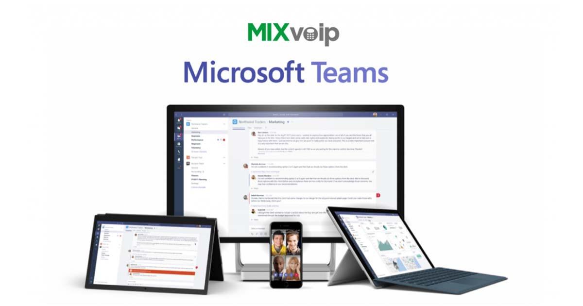 mixvoip microsoft teams