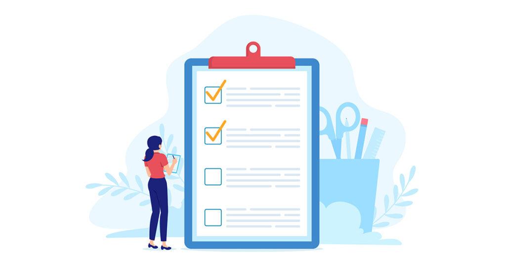 checklist for office move