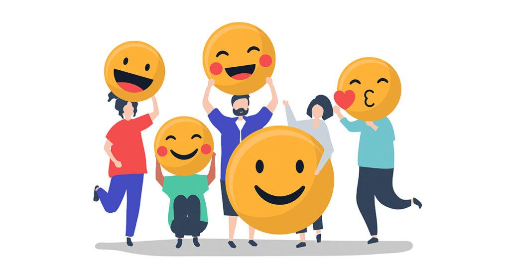 happy emoticons