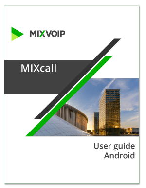 mixcall Android - user guide
