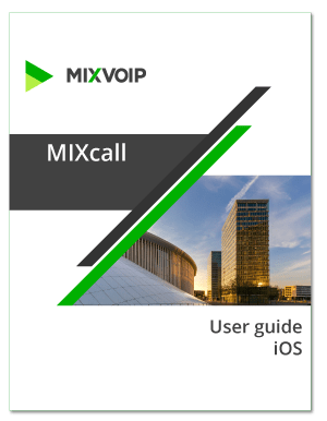 mixcall iOS user guide