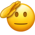saluting face emojipedia