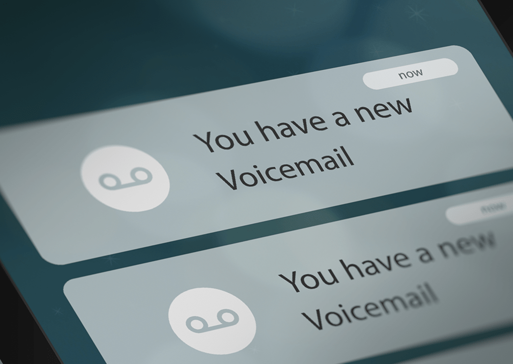 business voicemail message