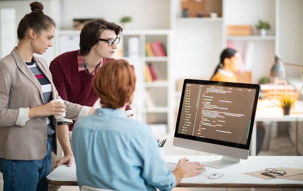 Teamarbeit Programmierer