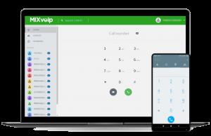 Cloud softphone MIXvoip
