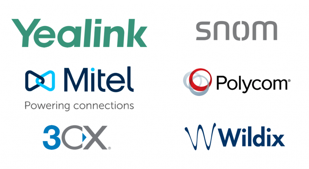 Microsoft temas multi vendor compatibility - yealink, snom, mittel, polycom, 3cs, wildix