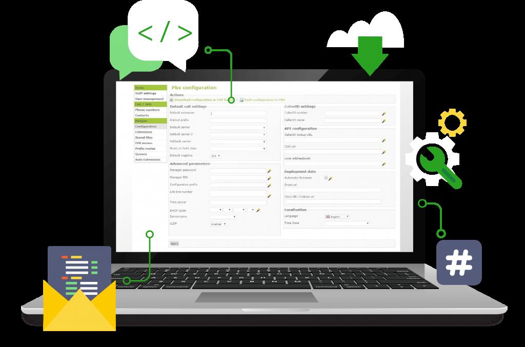 Cloud PBX by MIXVoip - optimize your business communications