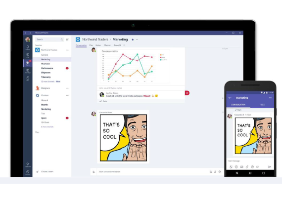 microsoft teams collaboration hub office 365
