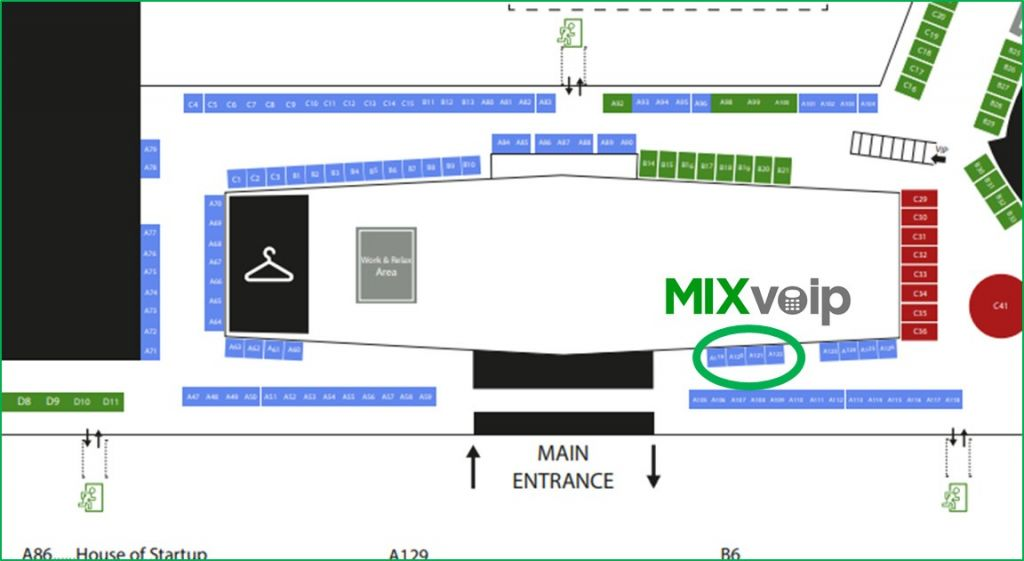 ict spring map booth mixvoip