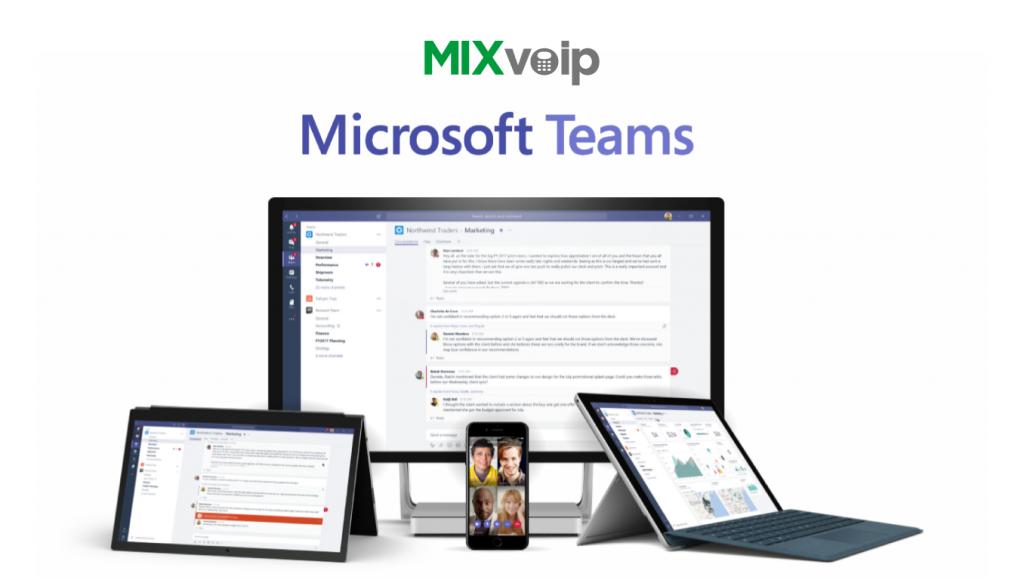 microsoft teams mixvoip