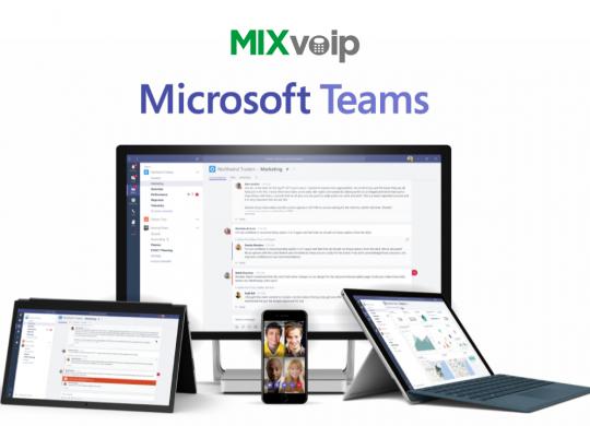 microsoft-teams-mixvoip-poster