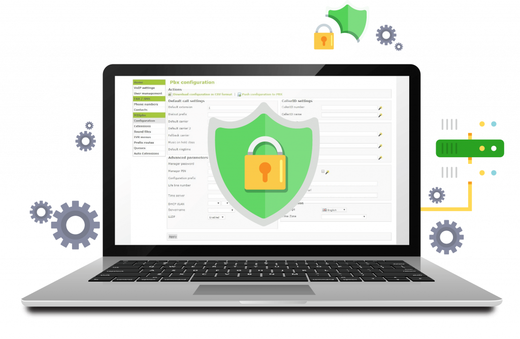 cloud pbx secure secrity