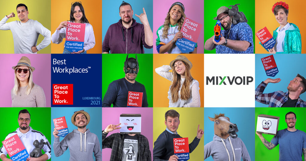great place to work mixvoip