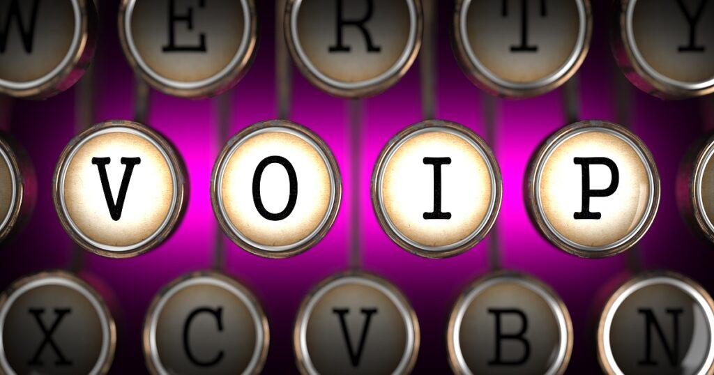 VOIP on Old Typewriter's Keys